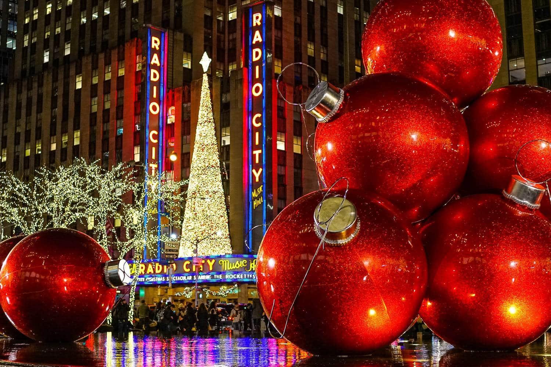 fêter Noël à New york